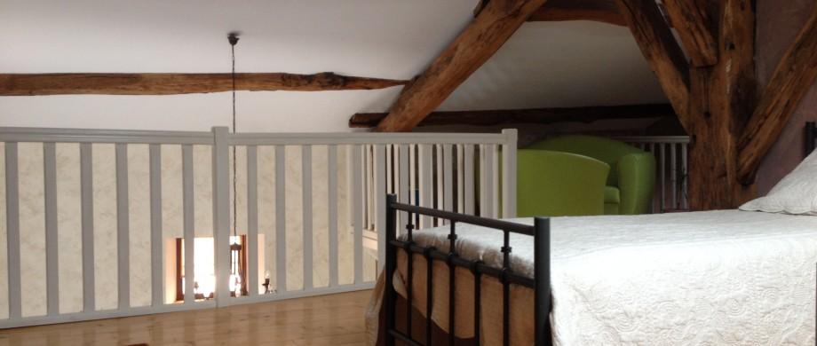 Gîte des Roises à Thillot en Meuse chambre près de St Mihiel