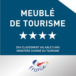 Meublé de Tourisme 4 étoiles