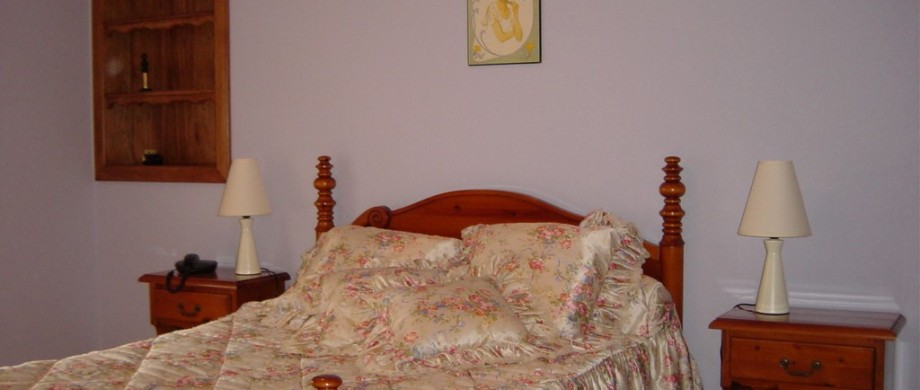 chambre romantique pour 2 au gîte des côtes