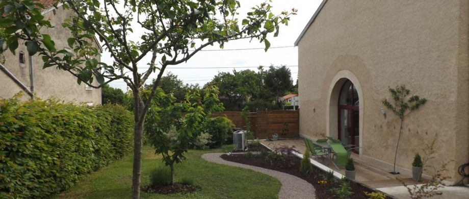 Jardin du gite du toilier à Thillot